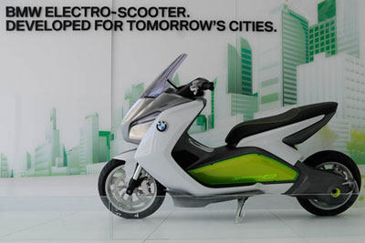 Motor Scooters Price on The First Bmw Motorrad E Scooter