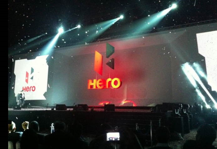 Hero MotoCorp's new Logo