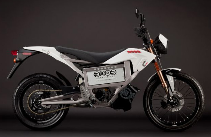 ZERO XU, The Electric Street Motorcycle, For 2011, side view